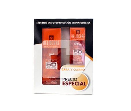 Heliocare Advanced SPF50+ gel 200ml + Advanced XF SPF50+ gel 50ml