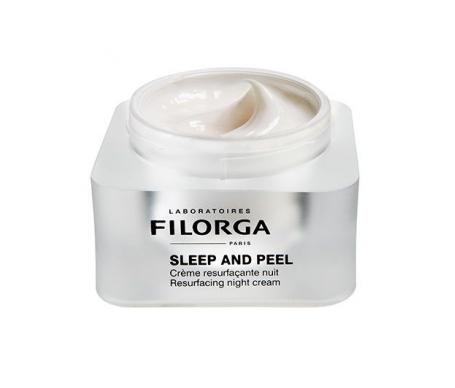 Filorga Sleep And Peel crema rejuvenecedora de noche 50ml