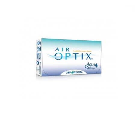 Air Optix® Aqua 6uds radio 8,60 dioptrías -1,25