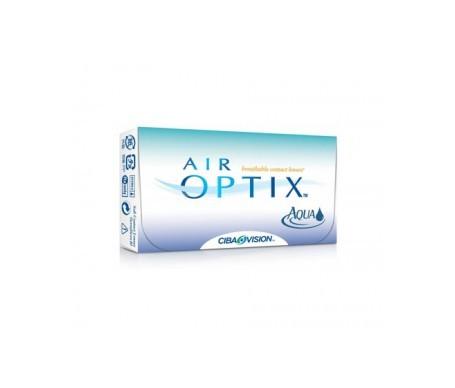 Air Optix® Aqua 6uds radio 8,60 dioptrías -6,50