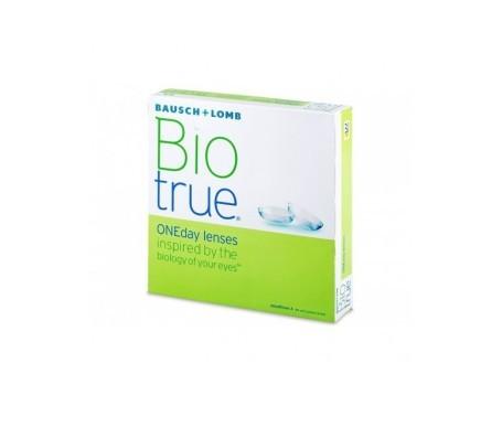 Bausch & Lomb Biotrue one day  90uds dioptrías-3.75