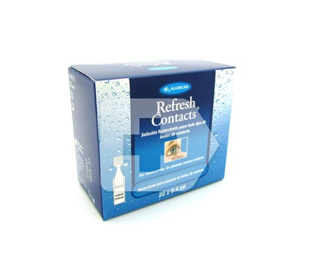 Refresh Contacts 20 viales X 0,4ml