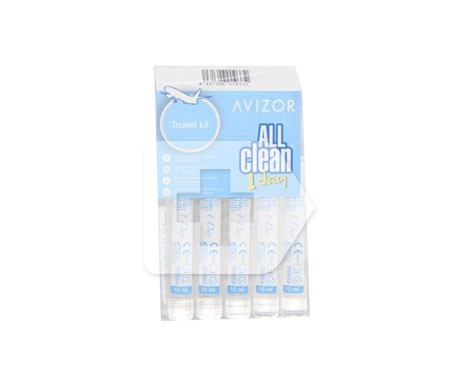 Avizor  All Clean Soft 10ml x 5uds
