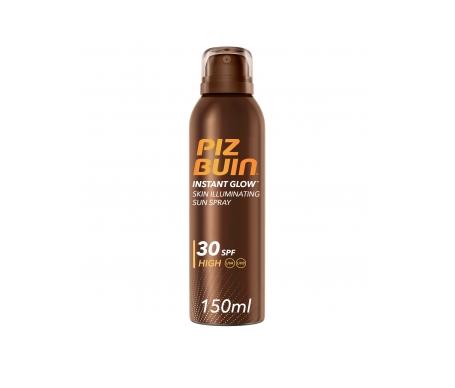 Piz Buin® Instant Glow SPF30+ Spray piel luminosa 150ml