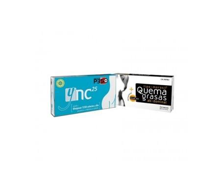 Ync25 15cáps + Lipo-morosil® Quemagrasas abdominal 30cáps