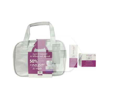 Serum7 Lift day firming cream SPF15+ 50ml + deep wrinkles serum 30ml + toiletry bag GIFT
