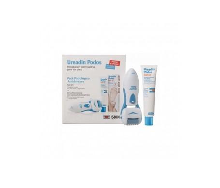 Ureadin® Pack Podológico Antidurezas: lima eléctrica + Podos Gel Oil