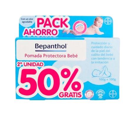 Bepanthol® pomada protectora bebé 100g+100g 50%dto. 2ªud