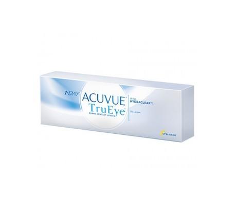 1-Day Acuvue® TruEye® curva 8.5 diaptrías  -1.25 30uds