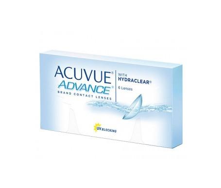 Acuvue®  Advance® curva 8.7 dioptrías -1.25  6uds
