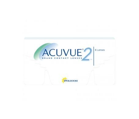 Acuvue® 2® curva 8.70 dioptrías -1.25 6uds