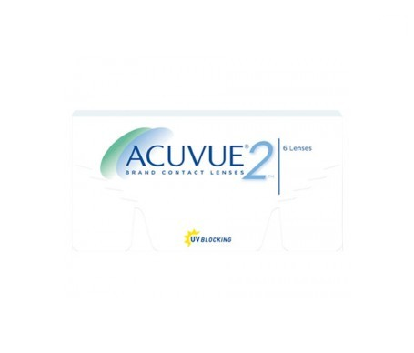 Acuvue® 2® curva 8.70 dioptrías +6.50 6uds