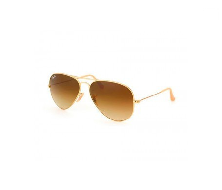 Ray-Ban Aviator Gradient Marrón Degradada 58mm lente