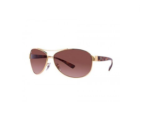 Ray-Ban RB3386 Marrón Degradada 63mm lente
