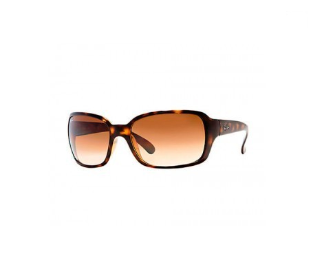 Ray-Ban RB4068 Marrón Claro Degradada 60mm lente