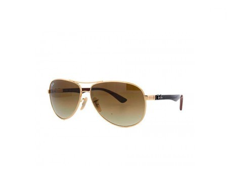 Ray-Ban RB8313 Marrón Claro Degradada 58mm lente