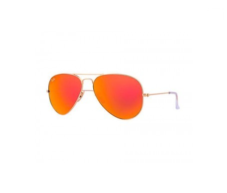 Ray-Ban Aviator Flash Lenses Naranja Flash 58mm lente