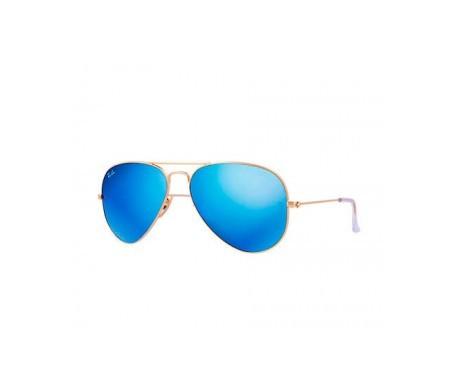 ray ban aviator azul precio