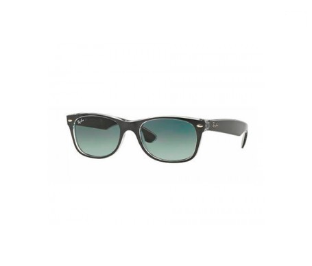 Ray-Ban New Wayfarer Metal Effect Grey Degradada 55mm lente