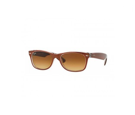 Ray-Ban New Wayfarer Metal Effect Marrón Degradada 55mm lente