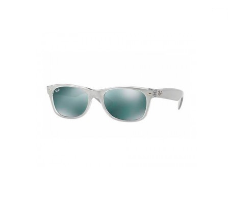 Ray-Ban New Wayfarer Metal Effect Plata Espejada 52mm lente
