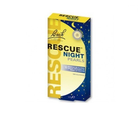 Rescue Night flores de Bach 28 perlas