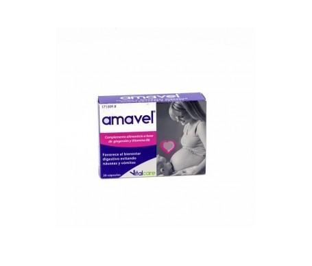 Amavel®  20 cápsulas