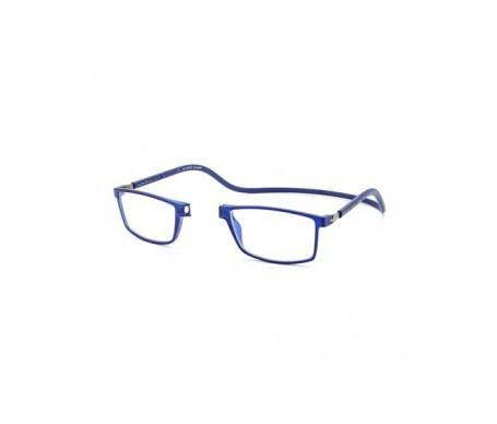 Magnética gafa de lectura +1.00 color azul marino 1ud