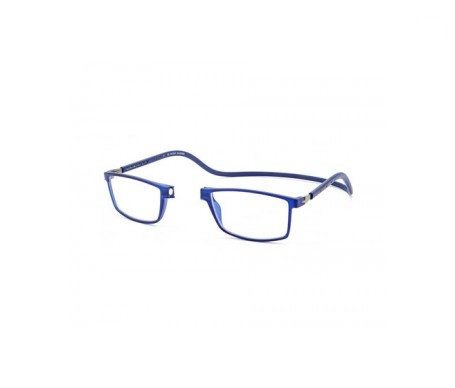 Magnética gafa de lectura +2.00 color azul marino 1ud