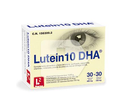 Lutein10 DHA™ 30càps+30càps+30càps