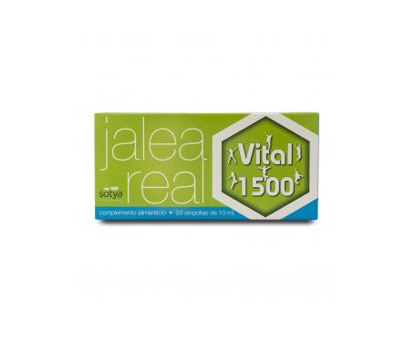 Sotya Jalea Real Vital Adultos 1500 20amp vidrio