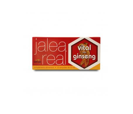 Sotya Jalea Real Vital con Ginseng 20amp