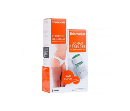 Thiomucase pack crema anticelulítica 200ml + stick zonas rebeldes 75ml