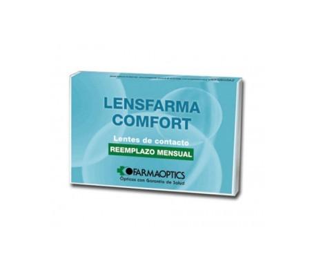 Lensfarma Comfort dioptrías-8.50 6uds