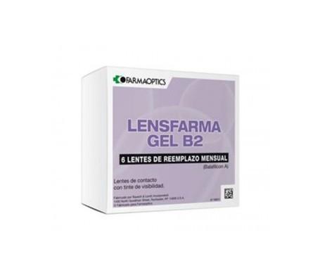 Lensfarma Gel B2 dioptrías -8.00