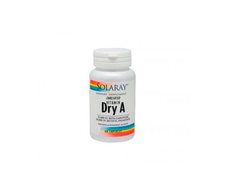 Solaray Emul.dry Vitamin A 25.000 Iu 60caps