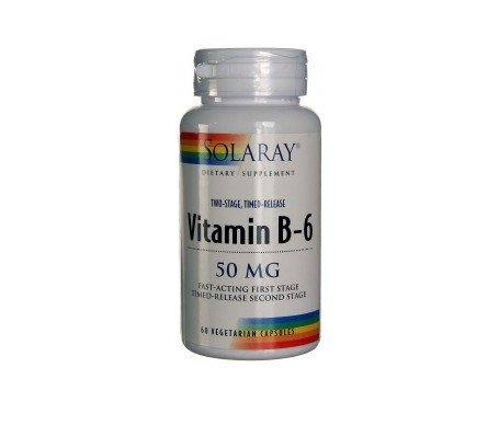 Solaray B6 50mg 60cáps