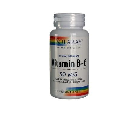 Solaray B6 50mg 60caps