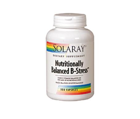 Solaray Nutritionally Balanced B-Stress 100caps