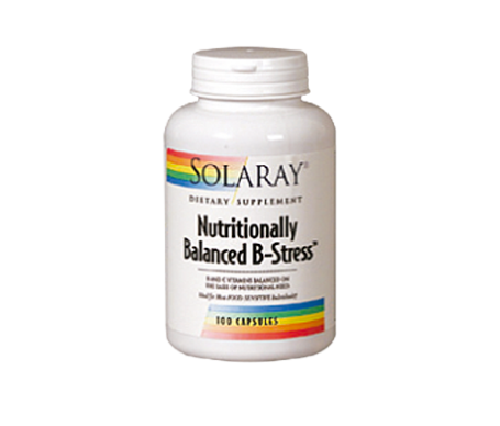 Solaray Nutritionally Balanced B-Stress 100cáps