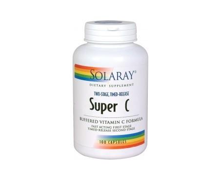 Solaray Super C 100 capsules végétales