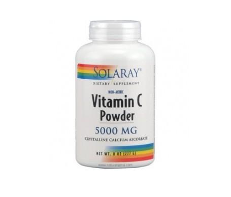 Solaray Non-nacid Vitamina C Crystalline 227g