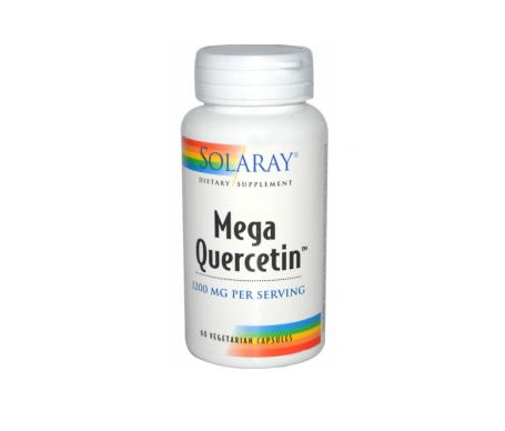 Solaray Mega Quercitin 600 Mg 60 gélules végétales