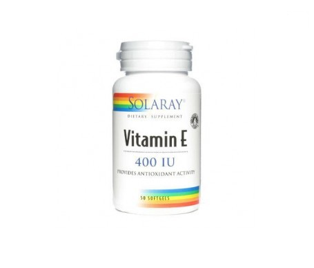 Solaray Vitamina E 50 perlas