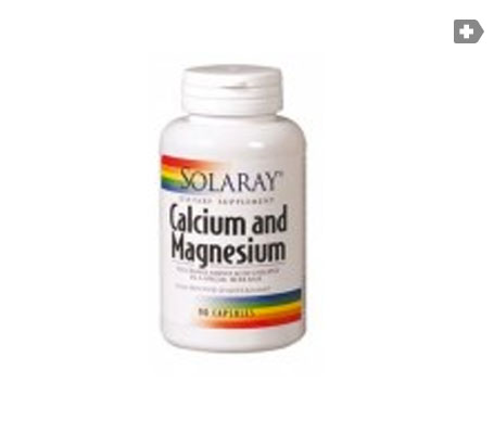 Solaray Calcium and Magnesium 90cáps