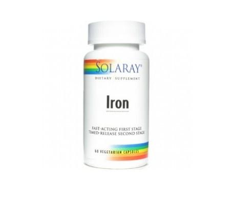 Solaray Iron 25mg 60cáps