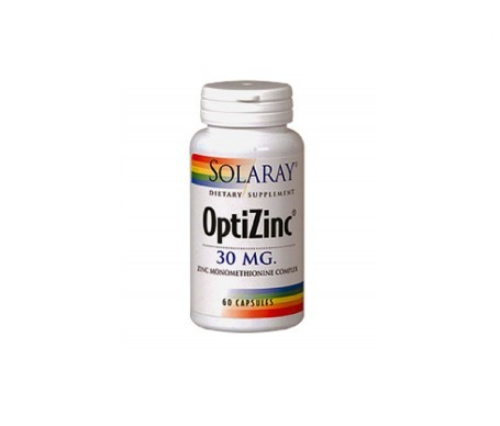 Solaray Optizinc 60cáps