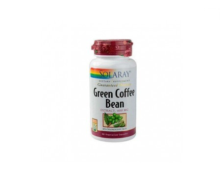 Solaray Green Coffe Extract 400mg 60cáps