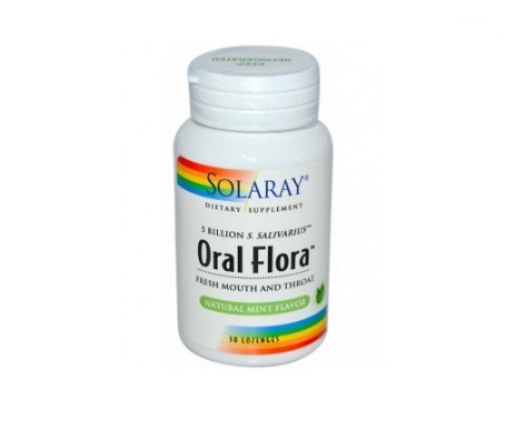 Solaray oral flora 30 chicles