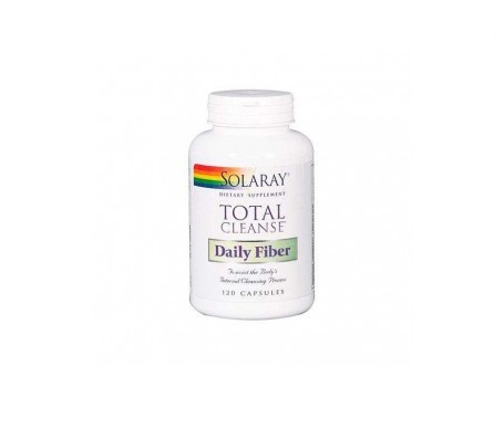 Solaray total cleanse fiber 120cáps